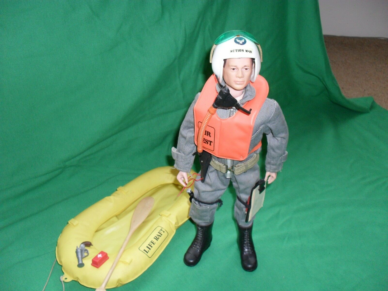 VINTAGE ACTION MAN SCRAMBLE PILOT