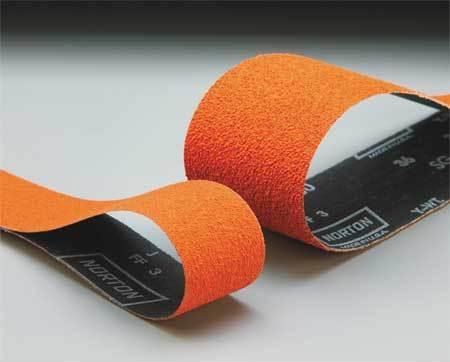 "NORTON 69957344764 3/"" x 132/"" Coated Sanding Belt 80 Grit"