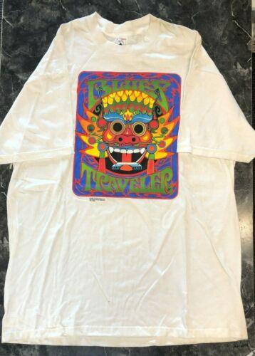 Vintage Rock T Shirt - Blues Traveler NOS 1997 Del