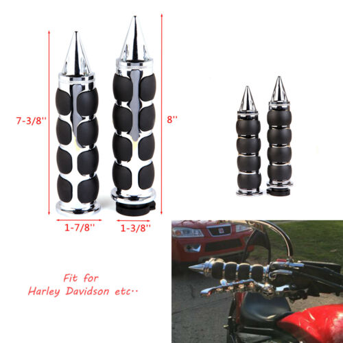 "Yamaha V Star Motorcycle Cruiser 1/"" Handle Bar Hand Grips For Honda Shadow"