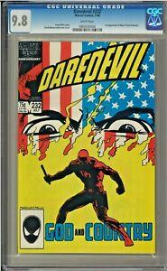 Daredevil-232-CGC-9-8-White-Pages-1st-app-of-Nuke-John-Byrne