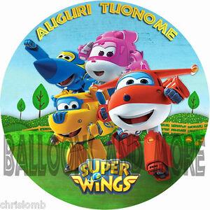 Cialda super wings decorazione torta ostia o zucchero for Decorazione waffel
