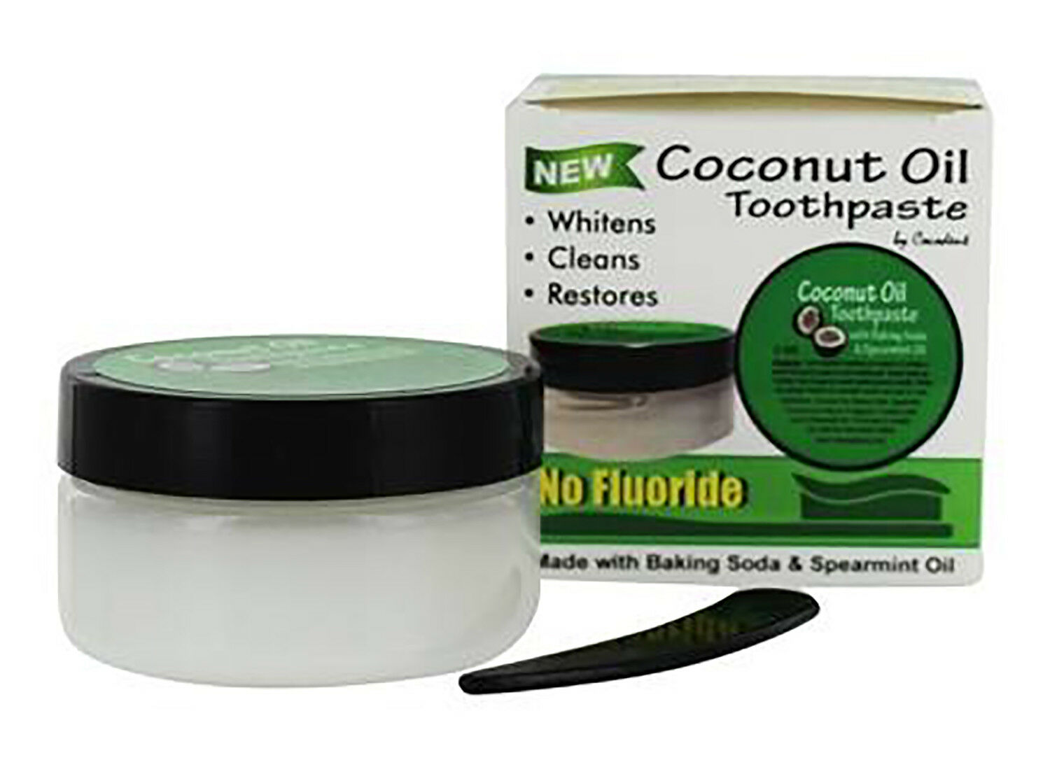 Cocodent Coconut Oil Toothpaste With Baking Soda Spearmint From