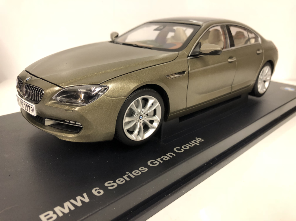 BMW 650I F06 GT Coupe Frozen Bronze 1 18 Scale Paragon 2218742
