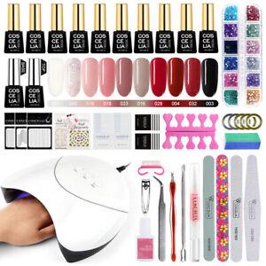 10-Colors-Gel-Nail-Polish-Kit-Starter-Manicure-Set-UV-LED-Nail-Dryer-Lamp-Nail-A