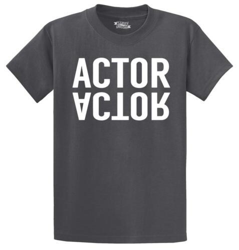 Mens Actor T-Shirt Work Movie