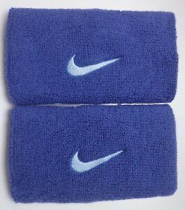 Nike Doublelarge Bracelets Sport Femme Homme Bleu Légende/glace-afficher Le Titre D'origine