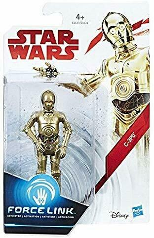 """DISNEY Star Wars Force E8 3.75/"""" Figura de Acción vínculo HASBRO Nuevo en Caja Juguetes"""