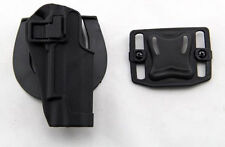 Quick Draw Tactical Right Hand Belt Holster w Paddle for Colt 1911 M1911 BLACK