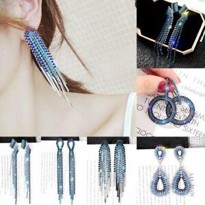 HK-Women /'s Fashion Star Drop Tassel Dangle Boucles d/'oreille Partie Bijoux Cadeau Hea