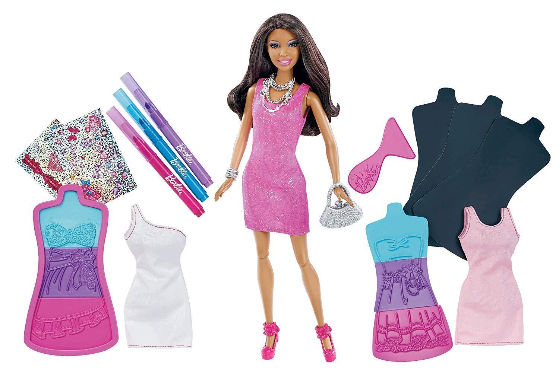 RARE AA Barbie Doll Fashion Design Plates