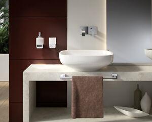 set accessori da muro bagno moderni cromato elba gedy rotolo