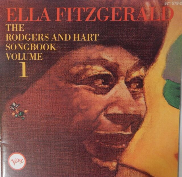 Ella Fitzgerald - The Rodgers and Hart Songbook Vol 1 (CD 1985 Verve) Near MINT