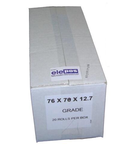 20 Rolls 76mm Width Grade SP700 Rolls to Fit Star SP-700