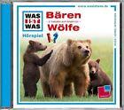 WAS IST WAS Hörspiel-CD: Bären/ Wölfe von Matthias Falk (2013)
