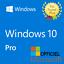 WINDOWS-10-PRO-PROFESSIONAL-32-64-BIT-CODICE-ORIGINALE-ESD-LICENZA-INVIA-SUBITO miniatura 1
