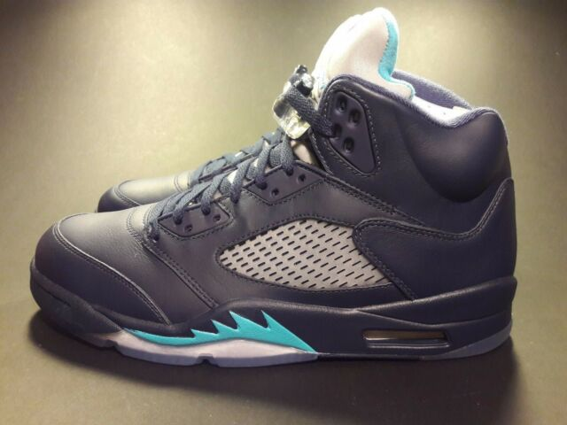 the best attitude ac5e5 e97eb Nike Air Jordan Midnight Navy 5 Hornet Size 10 Style # 136027 405
