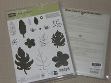 Stampin Up Stempelset Botanical Blooms + Framelits Pflanzen Potpourri NEU