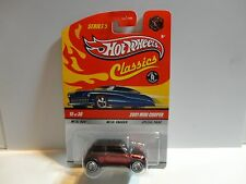 Hot Wheels Classics Series 5 CHASE Red 2001 Mini Cooper w/Real Riders