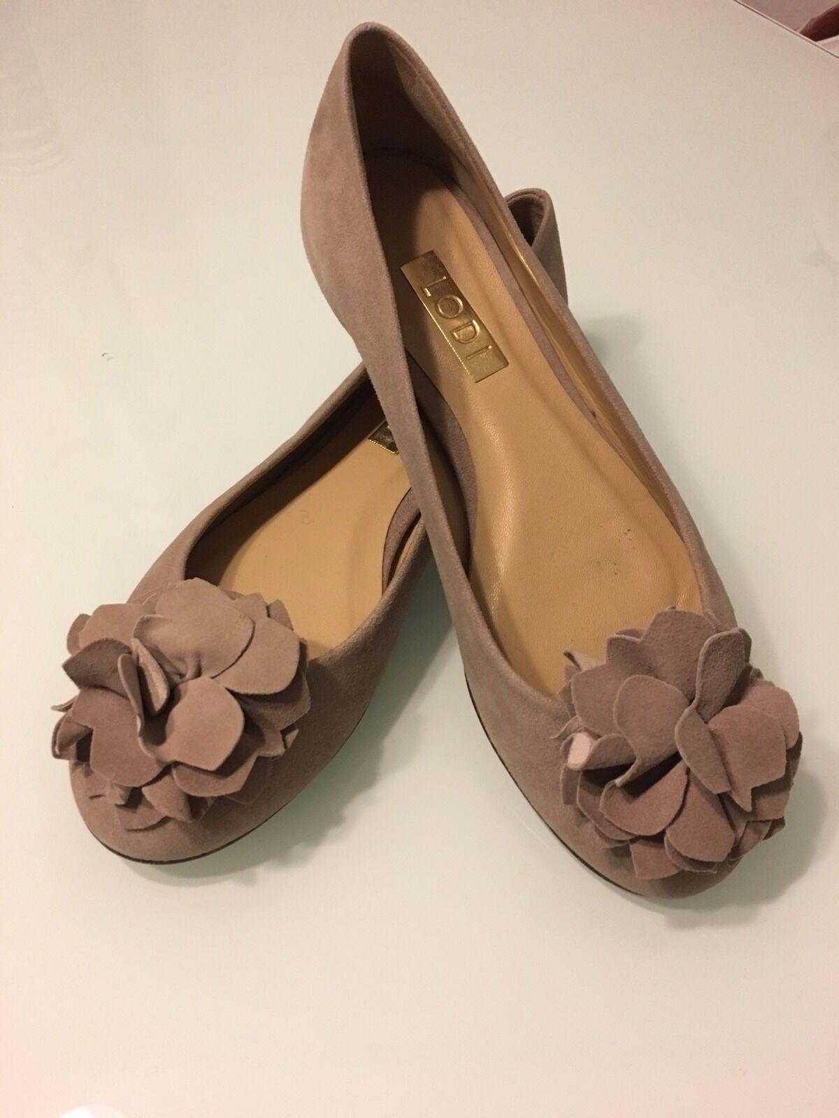 Zapatos señora, Lodi Lodi Lodi bailarina de enloquecer de gamuza, tamaño 36,5  hasta un 60% de descuento