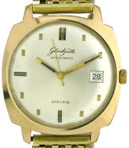GUB Glashütte Spezimatic Herren Vintage Uhr Kal.75 guter Zustand Ø 36 x 36mm