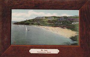 ST IVES  PORTMINSTER BEACH EARLY COLOUR POSTCARD - Worthing, United Kingdom - ST IVES  PORTMINSTER BEACH EARLY COLOUR POSTCARD - Worthing, United Kingdom