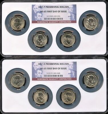 2007-P PRESIDENTIAL DOLLARS ~ NGC ~ 1st DAY OF ISSUE ~ FREE SHIPPING