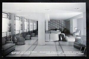 Vintage-Postcard-Alverno-College-Corona-Hall-Lounge-Milwaukee-Wisconsin-RPPC