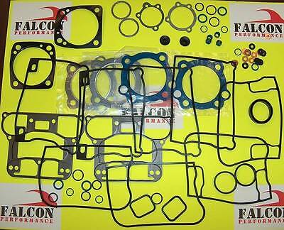 Harley Evo 1340 Big Twin Full Gasket Kit w//Teflon Head 92-98 Dealer LOT//3