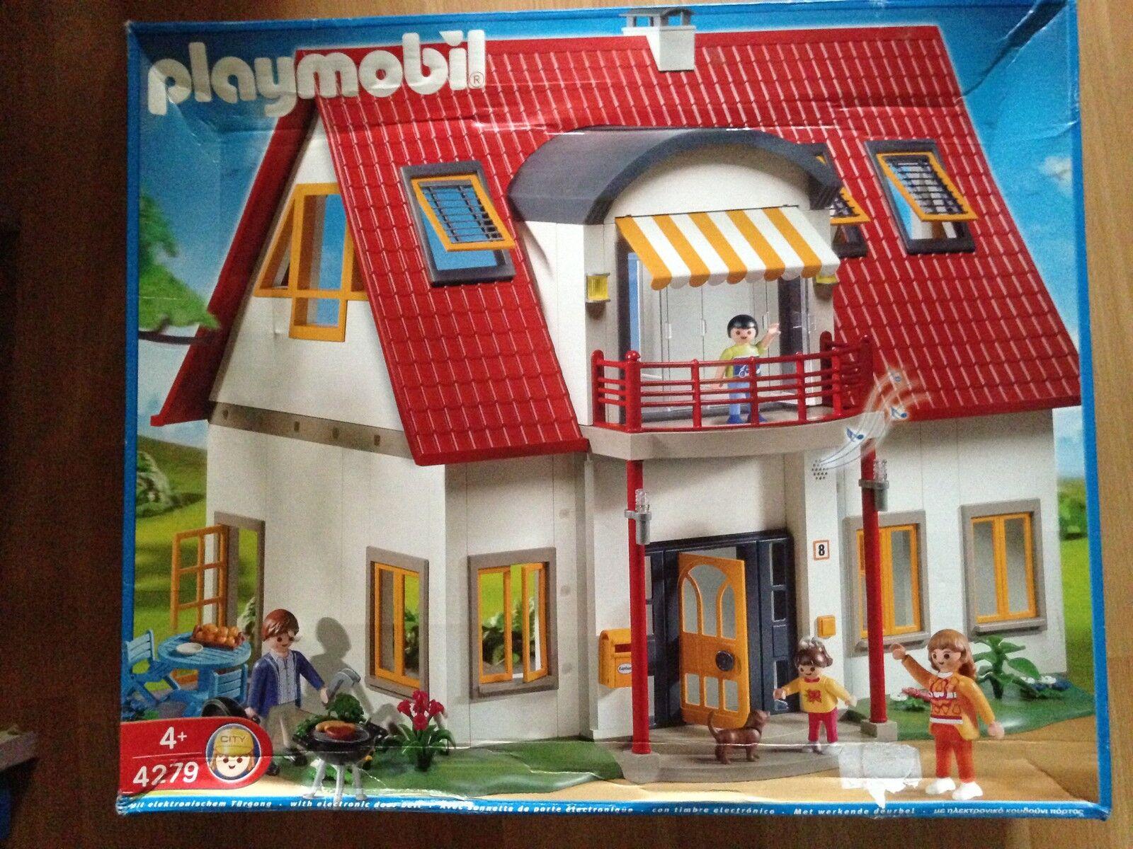 Casa Moderna Referencia 4279 Playmobil Con Embalaje Original