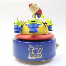 Wooderful Life Disney Toy Story Alien Little Green Men Wooden Music Go Round Box