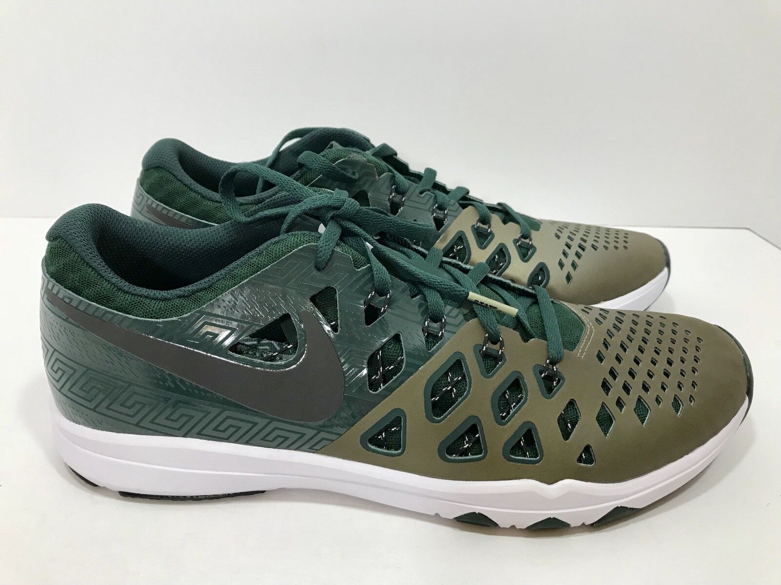 low priced 5193d 1a0a2 ... Nike Train Speed 4 Amp Michigan Michigan Michigan State Spartans Men s  Size 13 ...