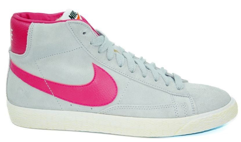 Nike Blazer Mid Premium Suede Wildleder High Gr:43 US:9,5 Grau Grey Sneaker