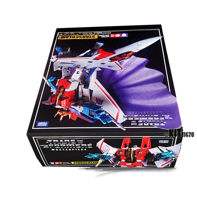 Transformers Takara Japan Masterpiece G1 MP-11 STARSCREAM + Coin 100% New!! UK