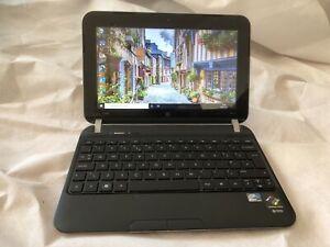 HP mini 210-4125sa Laptop. Intel Atom 1.9GHz. 240GB SSD. 2GB RAM. Win 10 Pro.