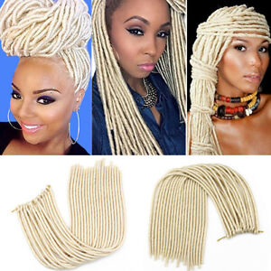 20 Synthetic Faux Locs Dreadlocks Twist Crochet Braid Hair