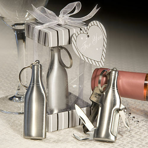 15-70 Amore Stainless Steel Bar Tool Bottle Opener Wedding Party Favors