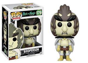 Birdperson The Rick and Morty TV Show POP! Animation #176 Vinyl Figur Funko