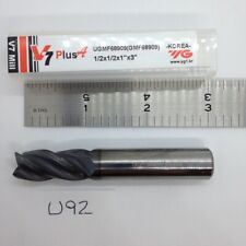 "1 Pcs. OSG Carbide End Mill  3//8x3//8x1/"" LOCx1-1//2 OAL 4 Flute Single End"