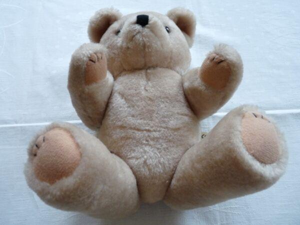 Alter Teddybär 31 Cm Beige Ce Nicky Toy Holland 70er J. Krallen Gestickt A+b Bew