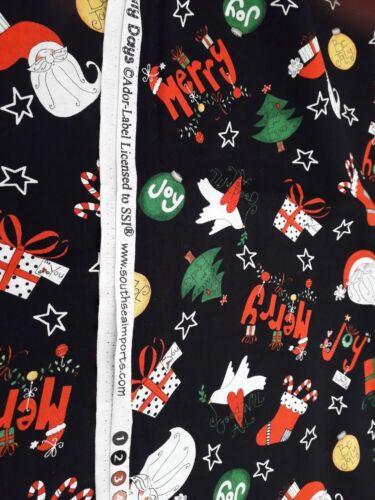 Ador Fabrics /'Happy Holly Days/' Christmas  Design New 100/% Cotton