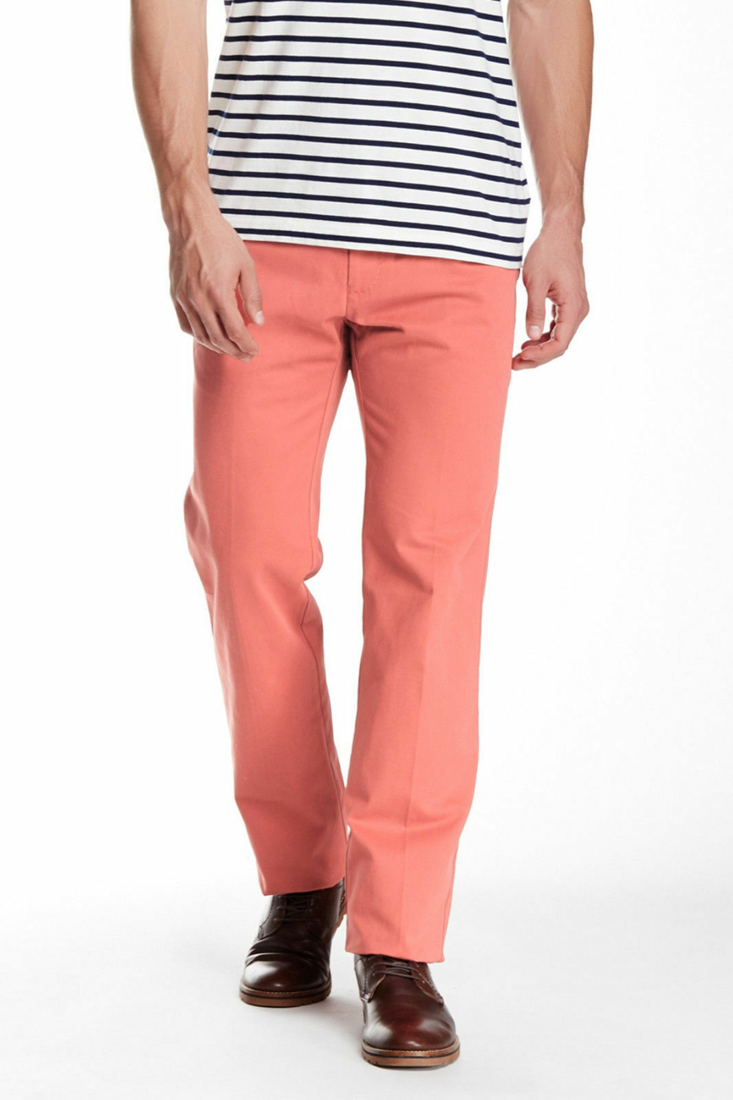 Peter Millar Raleigh Flat Front Washed Pant, 100% pima cotton, 35X36, , NWT