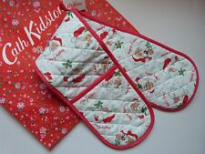 Cath Kidston Padre Navidad-Santa horno Guante/horno De Olla