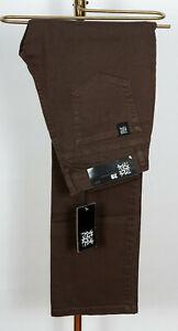 TPDG-Pants-Pant-Hose-Jeans-Pocket-Nostrand-Denim-Regular-Fit-Darkbrown-in-29