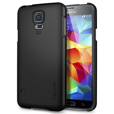 Spigen® For Samsung Galaxy S5 Case [Ultra Fit] Ultra Slim PC Lightweight Cover