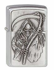 Zippo Mechero Segadores Curse Emblema con Segador Colección 2010 Nº 2000856