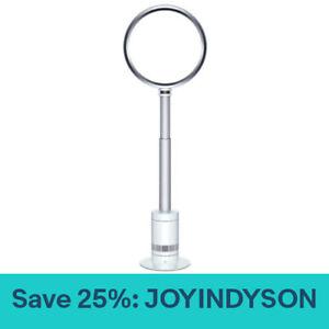 Dyson AM08 Bladeless Pedestal Fan | White/Silver | New