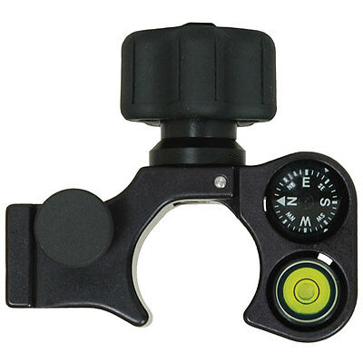 Seco Claw Pole Clamp with Compass and 40-Minute Vial