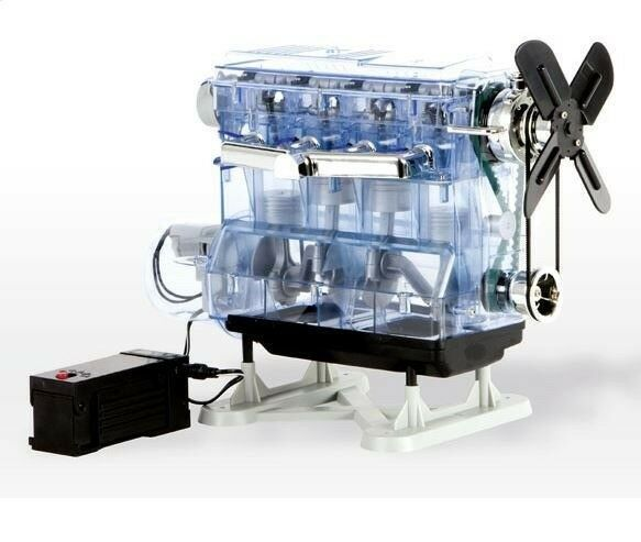 Franzis Learning Audi BMW Mercedes 4 Cylinder Engine Fully Functional Model Kit