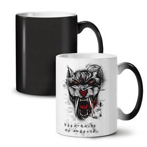 Hell Beast Tiger Animal NEW Colour Changing Tea Coffee Mug 11 oz | Wellcoda